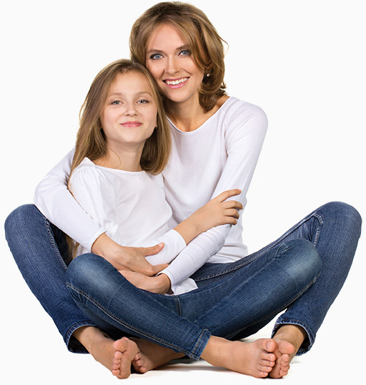 mother-daughter-sitting